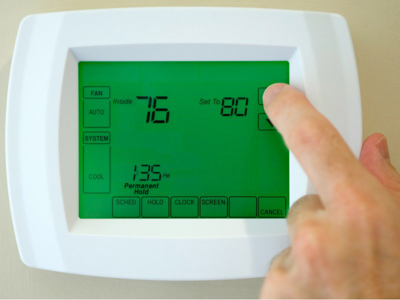 What Temperature Should I Set My AC to While Away on Vacation?